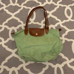 Light Green Longchamp Bag